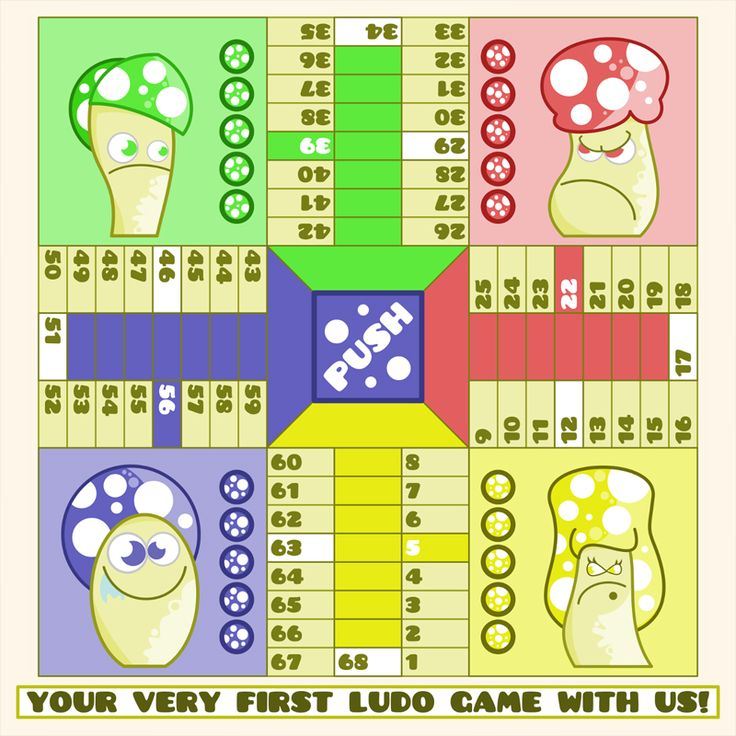 Cool Ludo Game Art – Starter Pack