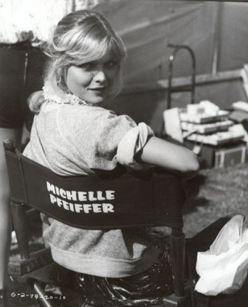 Michelle Pfeiffer - on the set of Grease 2!