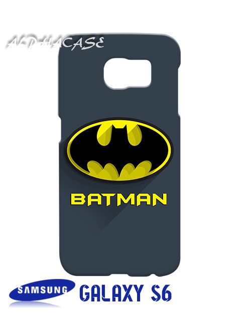 Batman Superhero Samsung Galaxy S6 Case