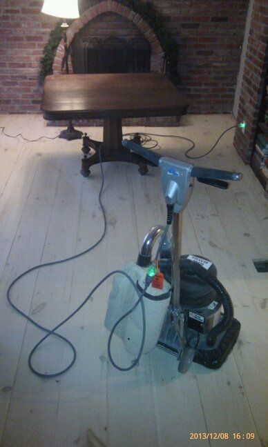 10 inch wide ship lapped pine board floor (from scratch) pre-stain