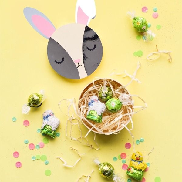 85 best easter lindt spiration images on pinterest lindt need a last minute easter gift oh happy day ohhappyday created these unique bunny negle Image collections
