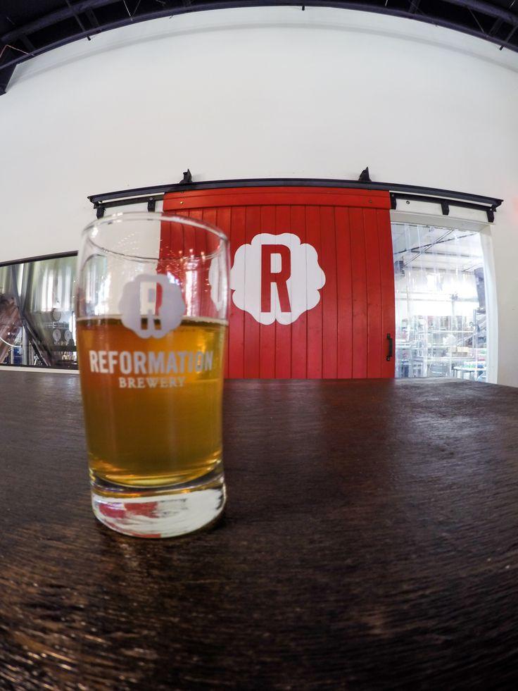 A delicious Belgian Tripel at Reformation Brewery in Woodstock Georgia @exploregeorgia #craftbeer