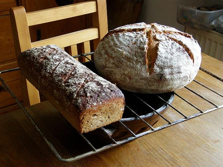 Nehnětené chleby kváskové