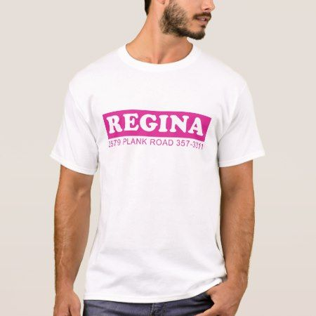 Regina Theater tee - tap, personalize, buy right now!