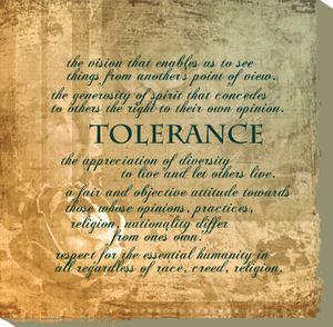 tolerance quotes for kids | Tolerance, Canvas Quote