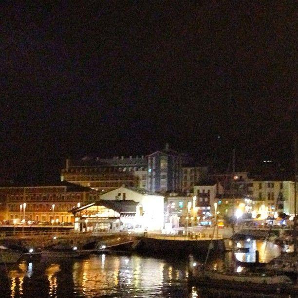 #puerto #gijon #noche #semanagrande #asturias #fiesta #paraisonatural #Padgram