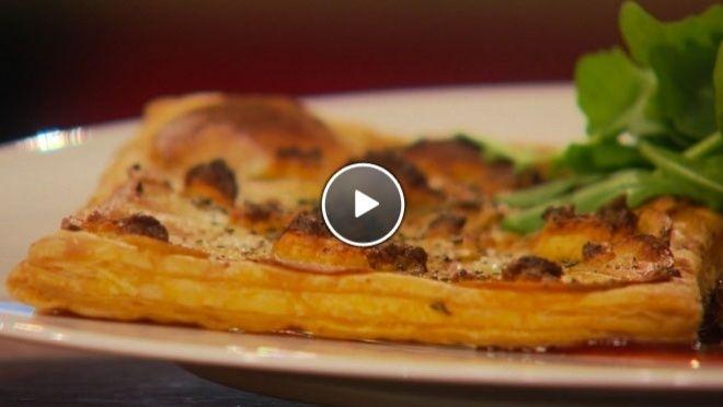 Aardappeltaart van de bakplaat (bekijk recept) - 24Kitchen !