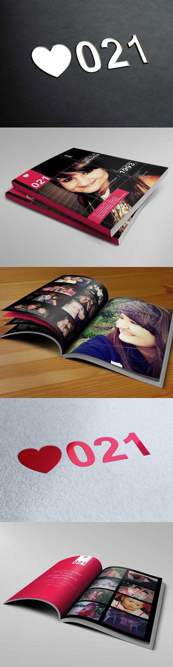 Natalie Gouveia | Birthday Book on Behance