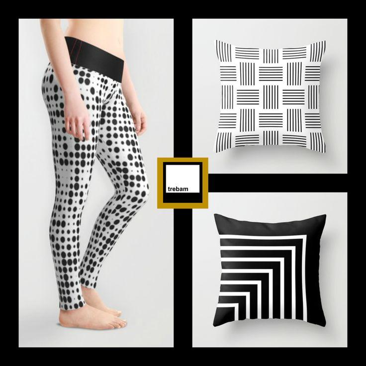 trebam X society6 | free worldwide shipping thru may 17th at midnight pst | shop trebam: http://society6.com/trebam | @society6art @trebamstyle #fashion #leggings #spandex #running #throwpillows #blackandwhite #livingroom #bedroom #homedecor #pillows #krugovi #postrance #kutovi #trebam #interiordesign #society6 | offer excludes framed prints, canvas, rugs & wall clocks