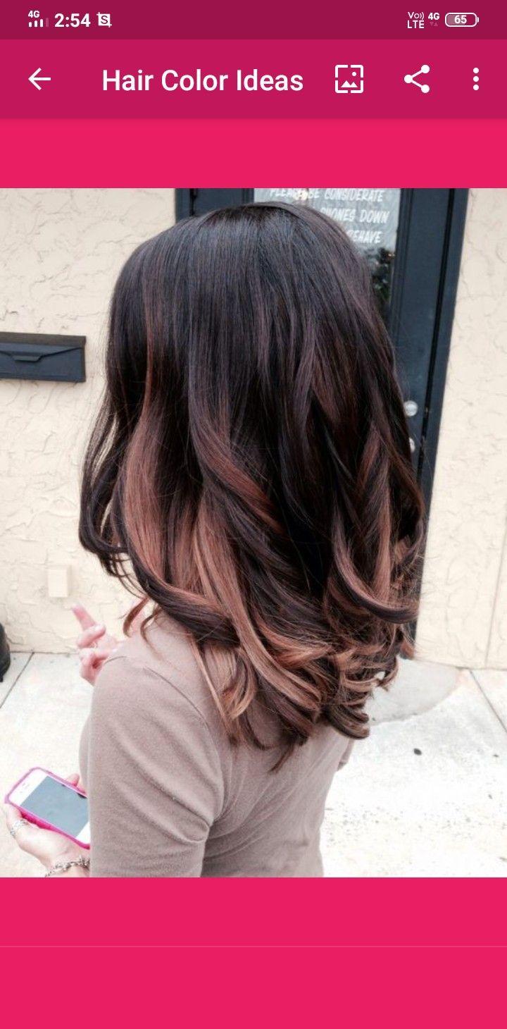 Pin By Alia Maisarah On Hair Girl In 2020 Hair Styles Hair Highlights Long Hair Styles