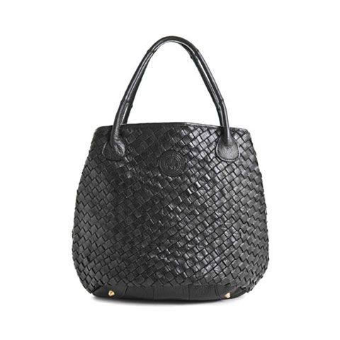 """Queen - Clean lines, a timeless basket weave finish and room for all of one's essentials–addressing this tote with """"Her Majesty"""" isn't a stretch."""