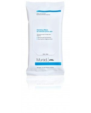 Clarifying wipes Murad 30 Count $18 -- these do make my face feel fresh, but a cheap toner would be the same and last longer!