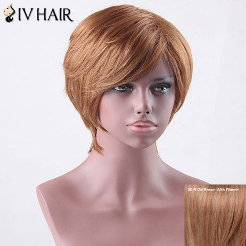 GET $50 NOW | Join RoseGal: Get YOUR $50 NOW!http://www.rosegal.com/human-hair-wigs/short-side-bang-straight-siv-827143.html?seid=4695937rg827143