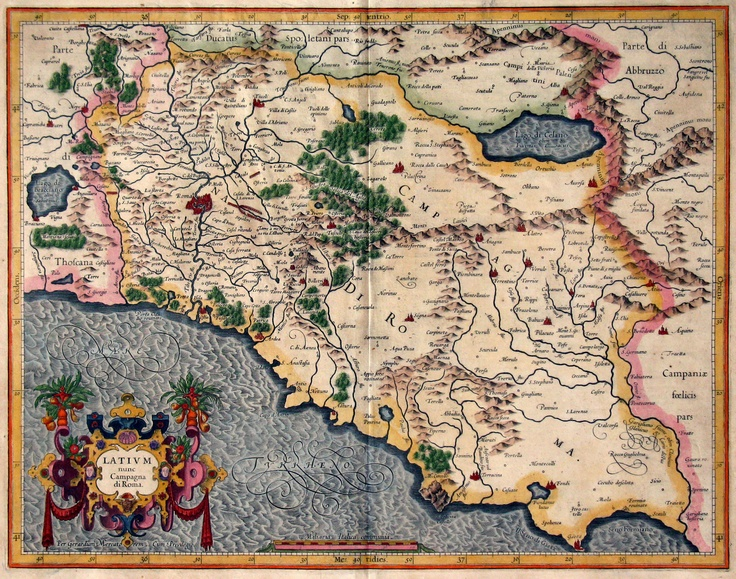 15 best vatican museum images on pinterest antique maps old maps vintage map of rome gumiabroncs Gallery