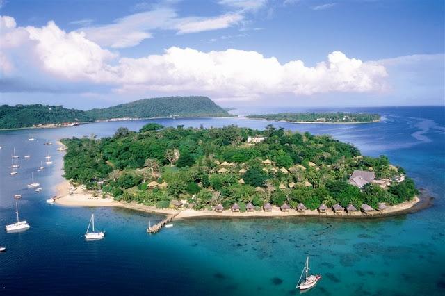 Spoil yourself with an Island escape. Iririki Island Resort, Vanuatu  www.islandescapes.com.au