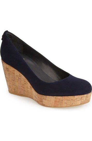 Stuart Weitzman 'York' Wedge Pump (Women) available at #Nordstrom