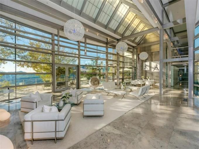 Steel and glass ed niles design malibu california - Maison contemporaine malibu niles architecte ...