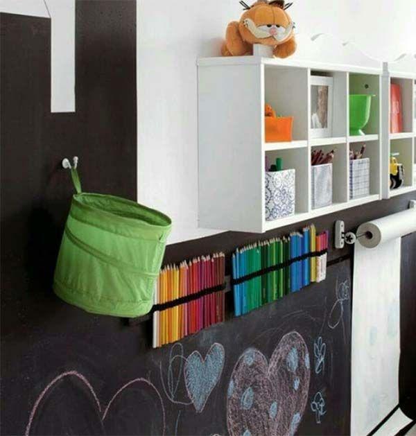 Wandgestaltung Kleines Kinderzimmer : kinderzimmer mit wandgestaltung zum malen kreidetafel kinderzimmer