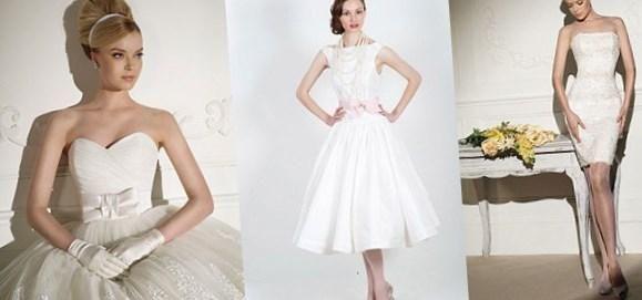 Свадебное платье в стиле 60 - http://1svadebnoeplate.ru/svadebnoe-plate-v-stile-60-3562/ #свадьба #платье #свадебноеплатье #торжество #невеста