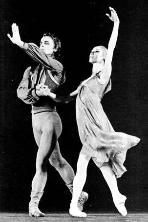 """Mikhail Baryshnikov & Natalia Romanovna Makarova (born October 21, 1940) is a Soviet-Russian-born prima ballerina. The History of Dance, published in 1981, notes that """"Her performances set standards of artistry and aristocracy of dance which mark her as the finest ballerina of her generation in the West."""" She has also won awards as an actress."""