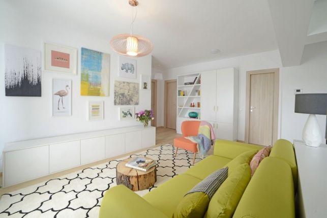 Apartament de 3 camere din Bucuresti - eleganta detaliilor intr-o amenajare cu bun-gust- Inspiratie in amenajarea casei - www.povesteacasei.ro