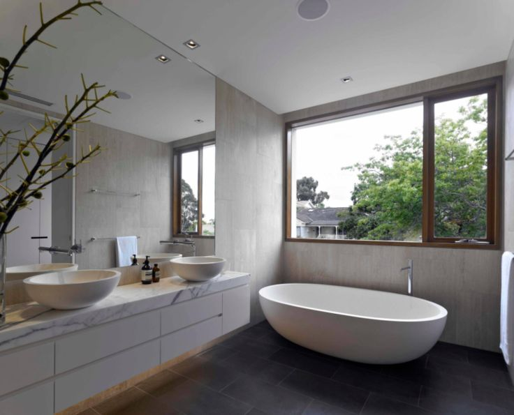 Wonderful 15 Stunning Bathrooms That Donu0027t Use White Tiles