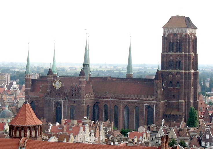 St. Mary's church, Gdynia Poland July 2012