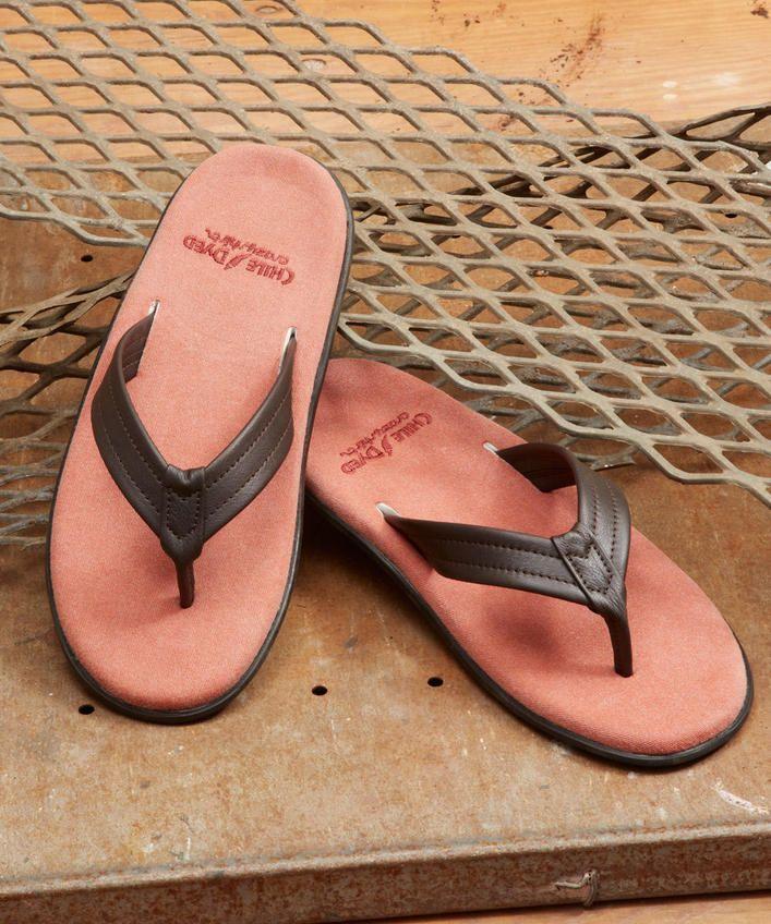 Aukai - Chile-Dyed Men's Sandals