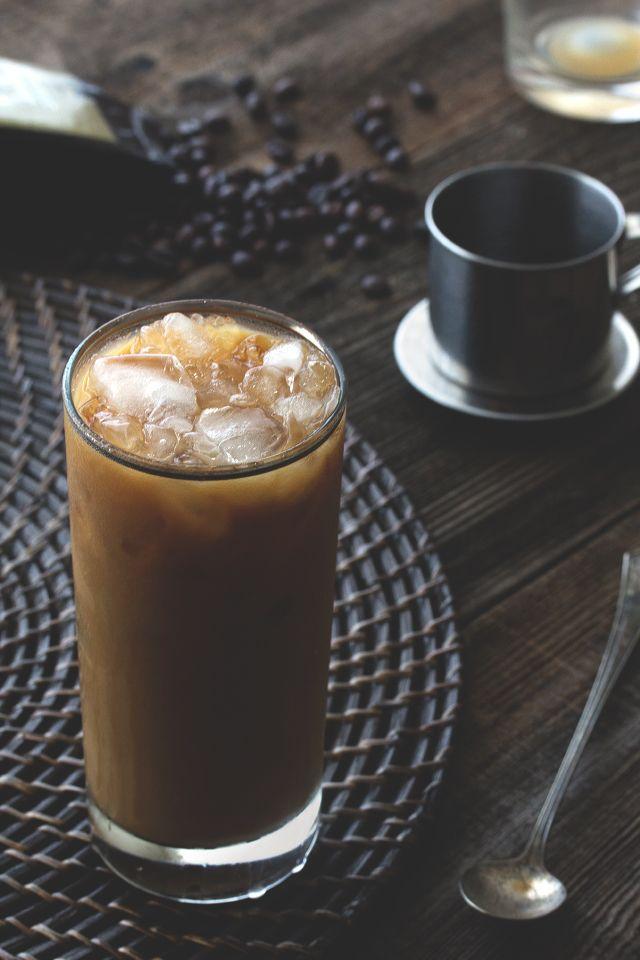 Vietnamese Iced Coffee from HonestlyYUM. My husband loves this stuff