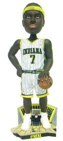 Indiana Pacers Jermaine O'Neal Forever Collectibles Bobble Head