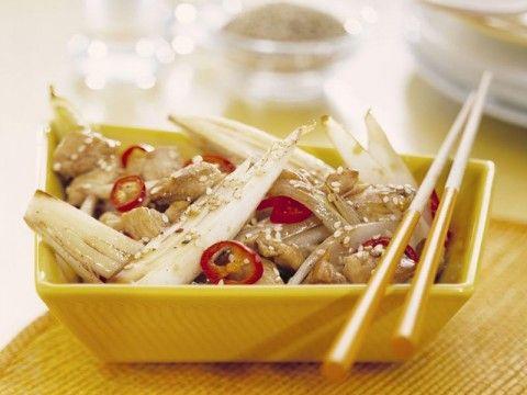 Pittige witlof en kip met rijst -  Verse Oogst