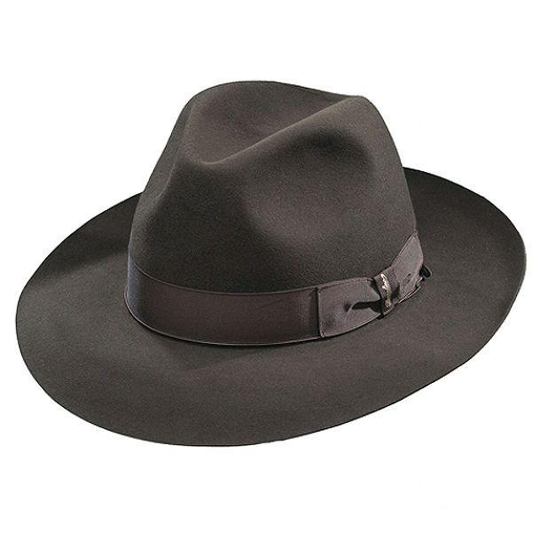 Borsalino Ernesto - Beaver Fur Felt Hat - Brown