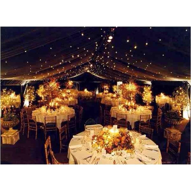 Perfect Starry Wedding Reception...