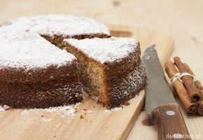 Škoricový koláč zo špaldovej múky