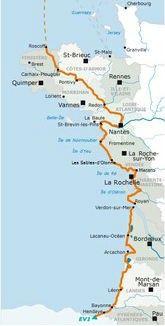 La Vélodyssée | Une véloroute de 1 200 km d'itinéraires aménagés