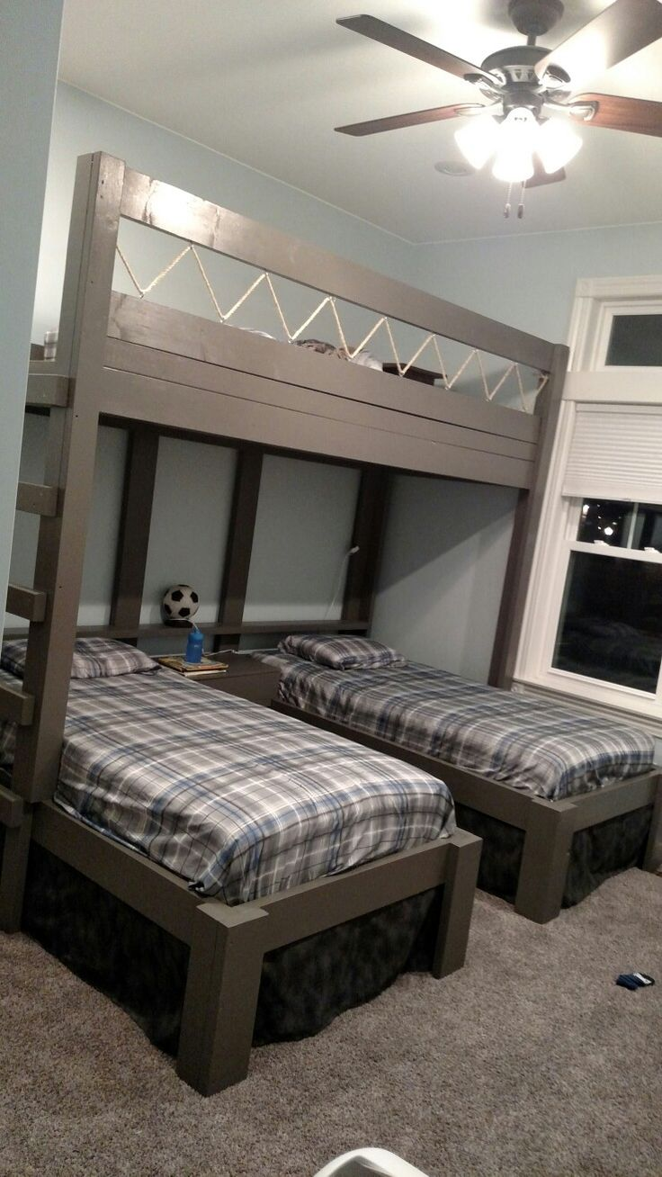 Best 25 triple bunk beds ideas on pinterest triple bunk Bunk bed boys room