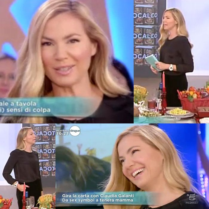 During daytime airing of 'Mattino 5' on 5th December 2013, tv host Federica Panicucci once again chose to wear a total outfit by #AtosLombardini #FW201314 collection. View on web: http://www.video.mediaset.it/video/mattino_5/full/425358/giovedi-5-dicembre.html