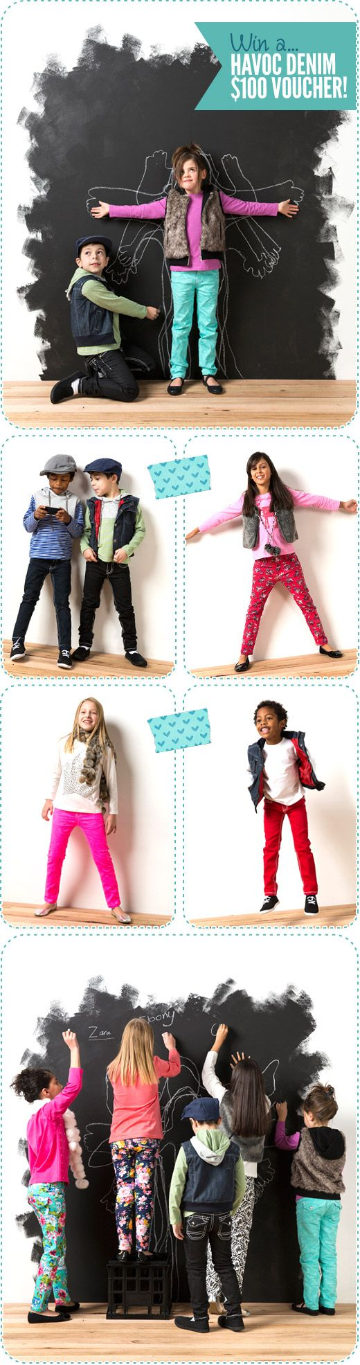 Havoc Denim Kids Jeans Giveaway, Competition