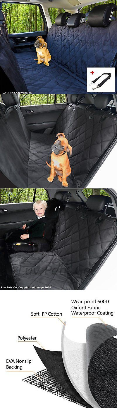 Car Seat Covers 117426: Dog Seat Cover - Hammock - Pet Seats Covers For Cars, Trucks And Suvs - Heavy Duty -> BUY IT NOW ONLY: $34.73 on eBay!