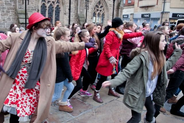 One Billion Rising in Durham - To end violence against women