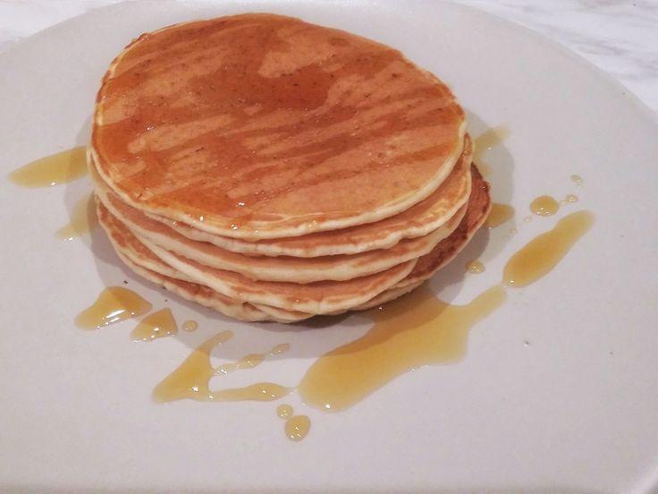 Pancakes vegan recipe   Συνταγή για νηστίσιμα pancakes