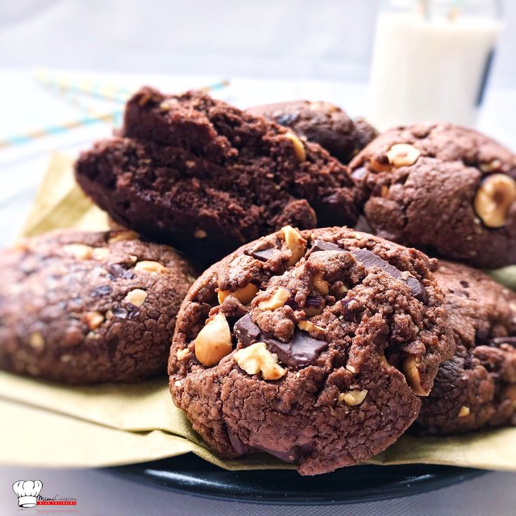 Cookies Noisettes Nutella Recette Companion