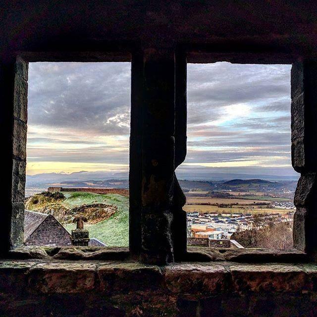 vista dal Castello di Sterling - Scozia