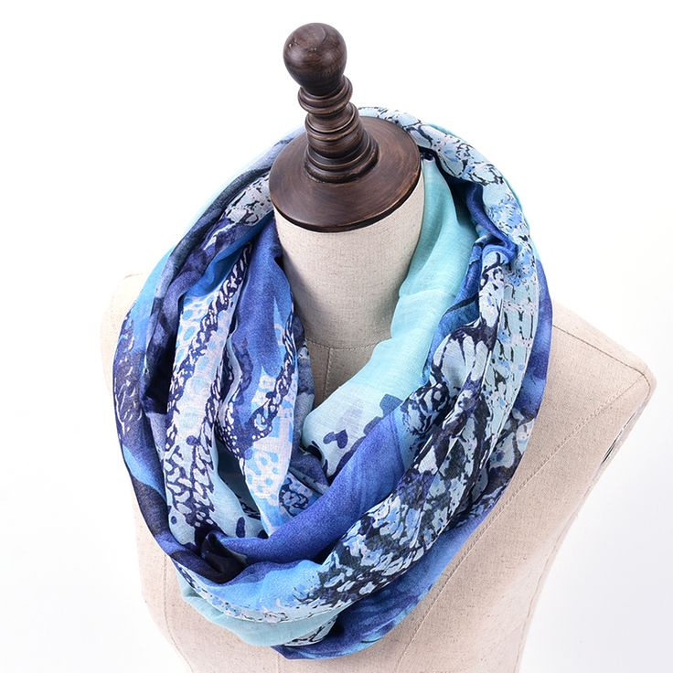 Butterfly print infinity scarf women inverno hijab ring scarfs fashionable wrap roupa feminina british style sjaals voile brand