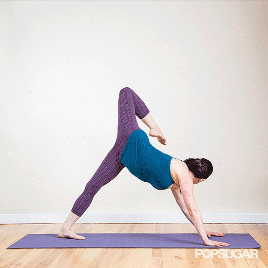 How to Warm Up Tight Hips Before a Run : One move to open-hipped perfection.  #SelfMagazine