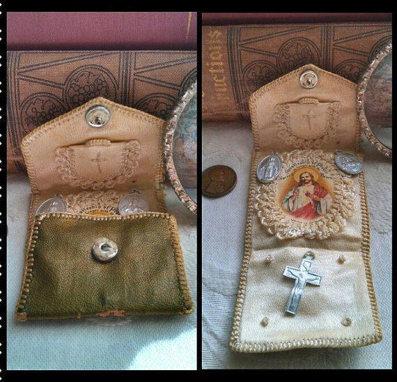 37 best catholic pocket shrine images on pinterest for Cross in my pocket craft