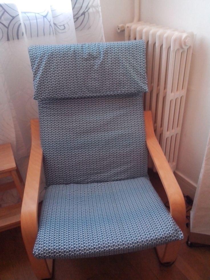 finest une nouvelle housse pour mon fauteuil poang ikeahack with fauteuil ikea pello. Black Bedroom Furniture Sets. Home Design Ideas