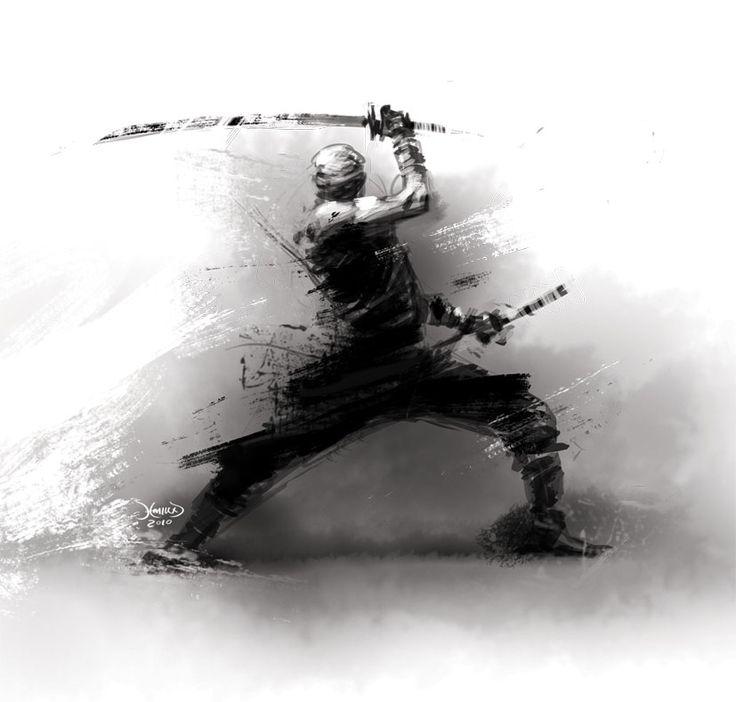 Rough Ninja by hamex.deviantart.com on @deviantART
