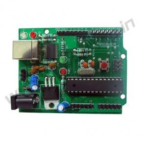 Roboduino With ATmega8 Product Code: RS-1014 Availability: In Stock Price: Rs. 400.00  http://www.roboshop.in/development-boards/roboduino-with-atmega8