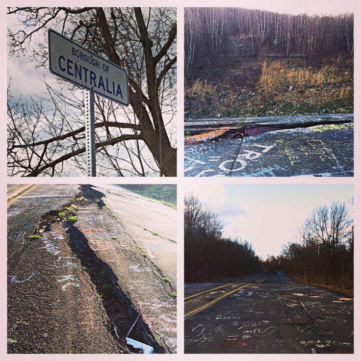 Abandoned Buildings In Centralia Pa: 17 Best Images About Centralia Pennsylvania